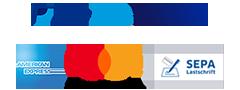 Logos Zahlungsarten